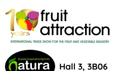 23-25 ottobre 2018 Fruit attraction – Natura a Madrid